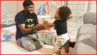 Baby DJ's FIRST Steps! - Daily Dose 2.5 (Ep.67)