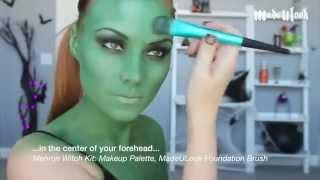 MadeULook Mehron Witch Character MakeUp