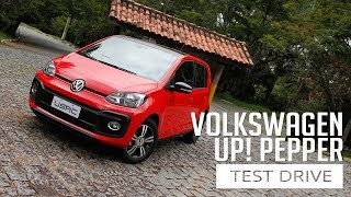 Volkswagen up! PEPPER – Test Drive