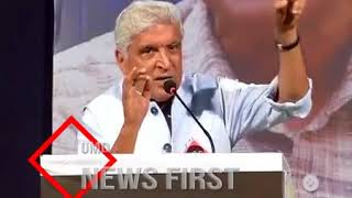 Javed Akhtar's Memorable Speech At The Event Organised In Memory Of Dabholkar
