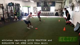 Elite Athletes Developing QUICK REACTION