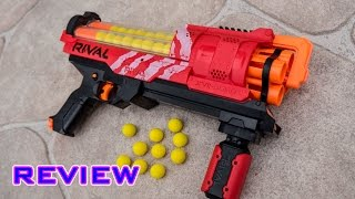 REVIEW Nerf Rival <b>Artemis</b> XVII3000 Unboxing Review And Firing Test