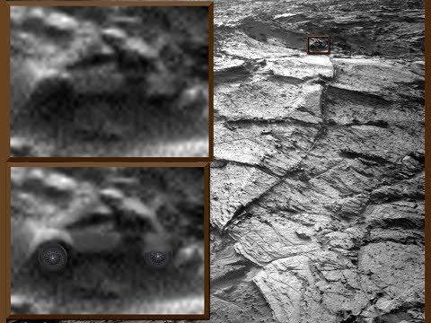 Auto en Helm op Mars?