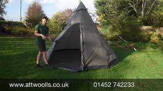 Easy Camp Moonlight Tipi Tent Review Video 2021