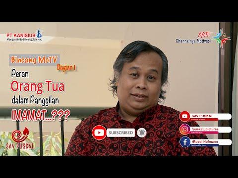 Bincang MoTv bersama Rm. Agustinus Setyodarmono SJ bag. 1 l MoTv Episode 34