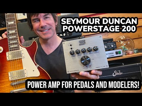 Pete Thorn's PowerStage 200 Pedalboard Guitar Amp Demo