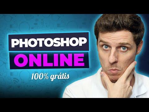 DE GRAÇA - Incrível Editor de Fotos Online   PHOTOSHOP Online