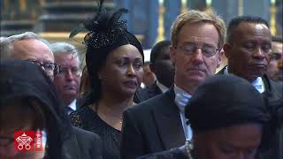 Papa Francisco funeral del cardenal Tauran 2018 07 12