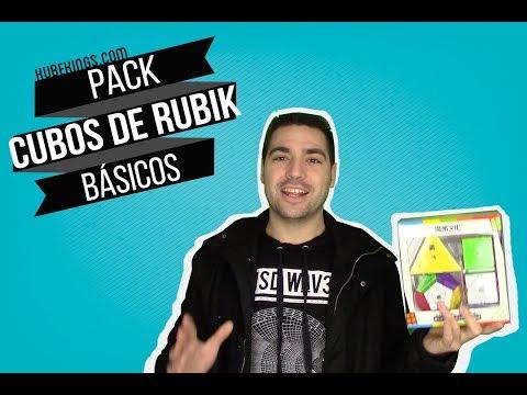 Pack iniciación CUBOS DE RUBIK - Básicos