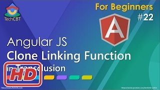 [Javascript Tutorial] AngularJS Tutorial: Clone Linking Function in Transclusion (transclude functi