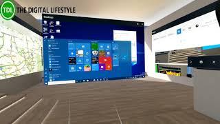 Как использовать приложения рабочего стола в Windows Mixed Reality (видео англ.)