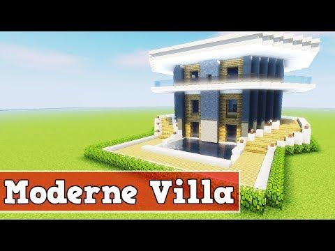 Wie Baut Man Eine Moderne Villa In Minecraft Minecraft Moderne Villa - Minecraft haus bauen deutsch