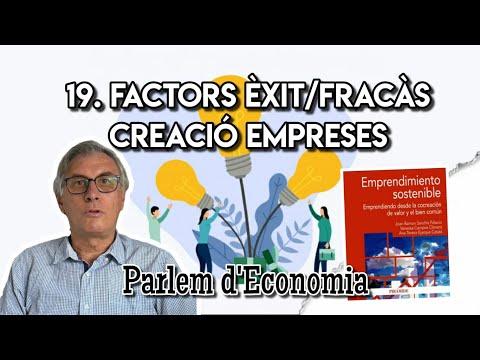 19 - Factores de éxito y de fracaso en el emprendimiento sostenible[;;;][;;;]