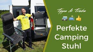 Campingstuhl Test - Auf der Suche nach DEM perfekten Klappstuhl