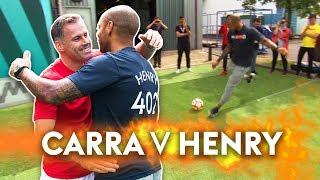 Henry v Carragher | 10 Ball Crossbar Challenge!