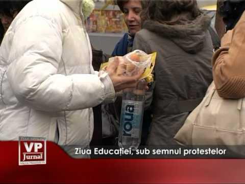 Ziua Educatiei, sub semnul protestelor