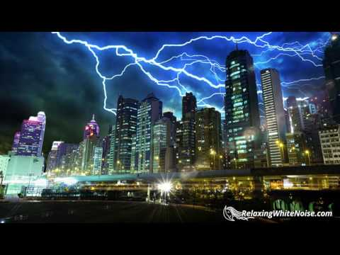 Thunder Sounds with Rain for Great Sleep | Rainsto | Youtube
