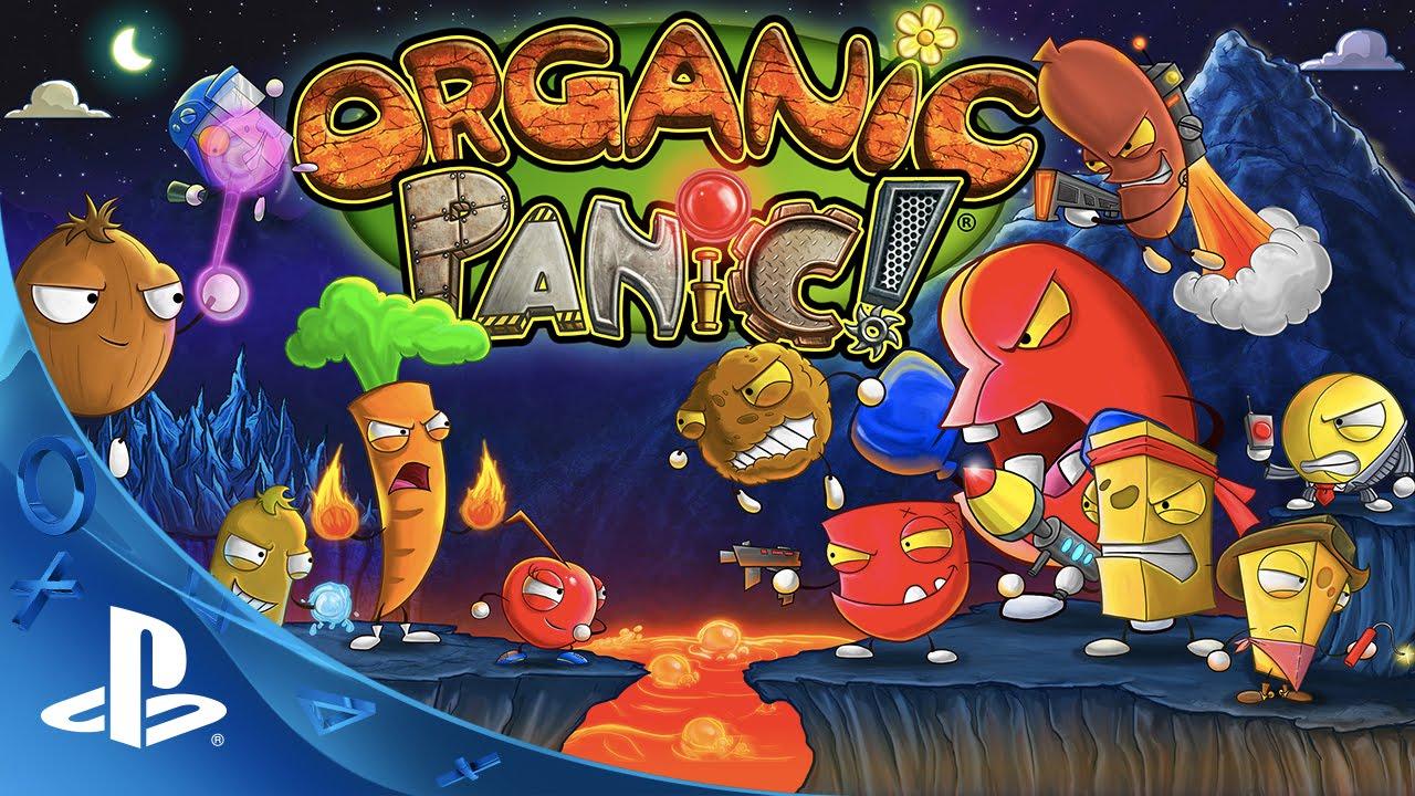 Der gastronomische Rätsel-Plattformer Organic Panic erscheint im März für PS4