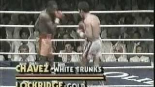 Julio Cesar Chavez Vs. Rocky Lockridge [35]