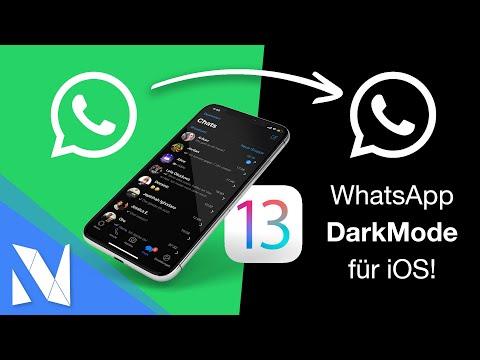 So sieht der WhatsApp Darkmode für das iPhone aus!   Nils-Hendrik Welk