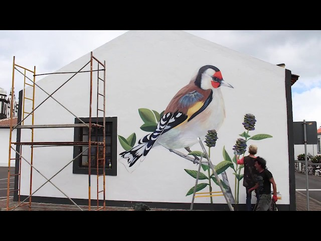 Nature is Home: Goldfinch Mural