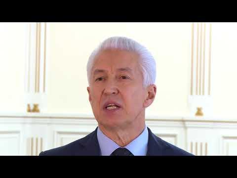 Врио главы Дагестана сделал новогоднее обращение