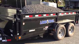 Load Trail Hydraulic Dump Trailer Payload Pressure Test DT14 14000# 717-220-4220 Best Choice Trailer