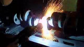 Video Phun phủ kim loại phục hồi trục động cơ