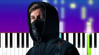 Alan Walker - Finish Lines  (Piano Tutorial)