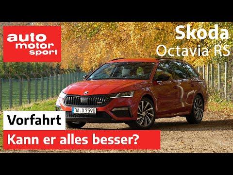 Skoda Octavia RS (2020): Kann er alles besser? - Fahrbericht / Review I auto motor und sport