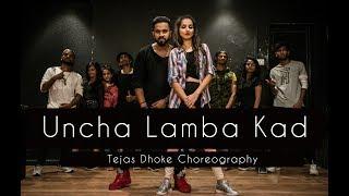 UNCHA LAMBA KAD   Tejas Dhoke Choreography   Dancefit Live