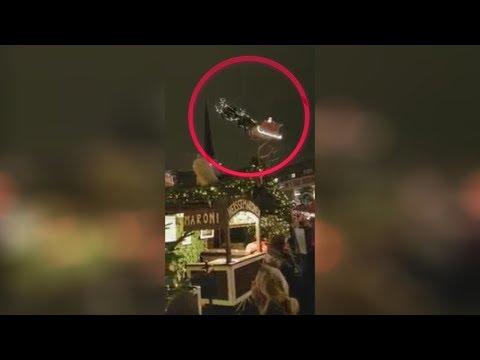5 Santa Claus en sus TRINEOS captados en videos