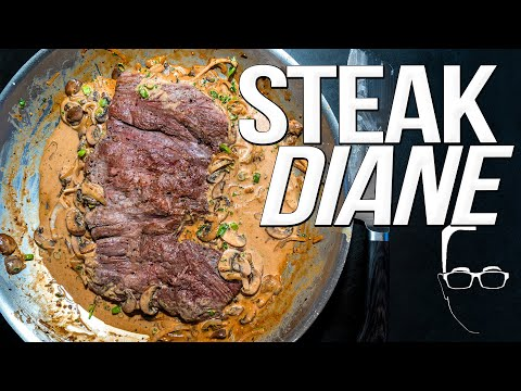 YUM: SAM THE COOKING GUY MAKES STEAK DIANE