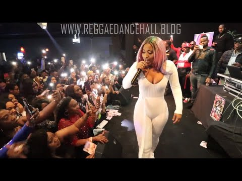 Shenseea Live Performance At Club Mystic Poughkeepsie NY