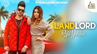 Landlord | (Full HD) | Raja Yankee | New Punjabi Songs 2020 | Jass Records