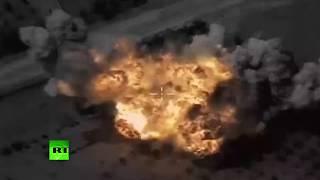 Результаты нанесения авиаударов российскими Ту-95МС по ИГ в Сирии