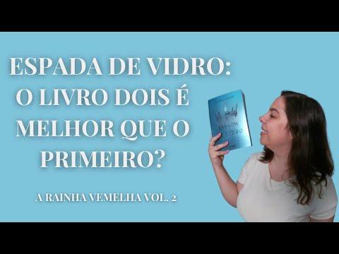 EU LI ESPADA DE VIDRO - SEGUNDO LIVRO DA SÉRIE A RAINHA VERMELHA | SEM SPOILERS