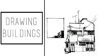 Drawing Buildings · 30 Ways to Fill a Sketchbook · SemiSkimmedMin