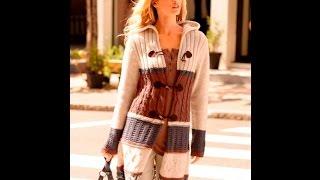 Женское Пальто Спицами - 2017 / Women coat spokes / Damenmantel Speichen