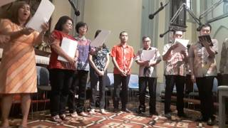 Prayer of St Francis - Allen Pote by Family Choir