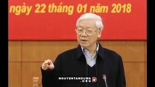 Cách mà TBT Nguyễn Phú Trọng dội gáo nước lạnh vào phản động và nhóm phe cánh lũng đoạn đất nước
