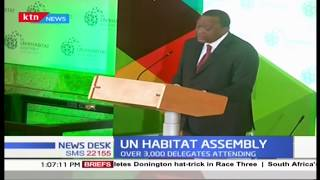 High level UN-HABITAT summit kicks off in Nairobi, over 3000 delegates attending