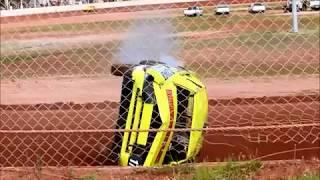 Ellenbrook Speedway | Tylar Main Enormous Rollover