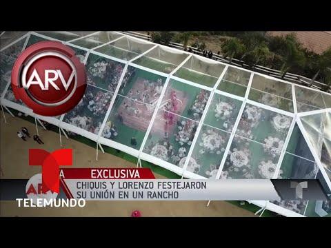 El rancho en el que festejaron su boda Chiquis y LorenzoAl Rojo VivoTelemundo