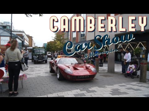 Camberley Car Show 2018 - THERE ARE SO MANY CARS!!