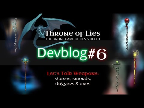 Throne of Lies - Devblog #6: Let's Talk Weapons...