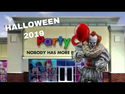 PARTY CITY HALLOWEEN 2019