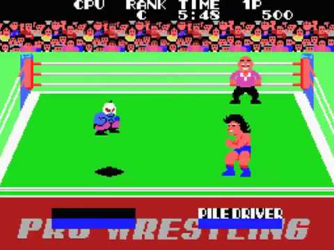 Champion Pro Wrestling Japan MSX Gameplay video Snapshot