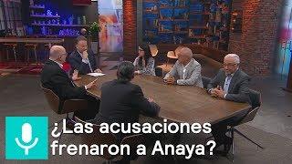 """""""Acusación frenaron a Anaya"""": Encuestadores - Es la hora de opinar - 6 de junio de 2018"""