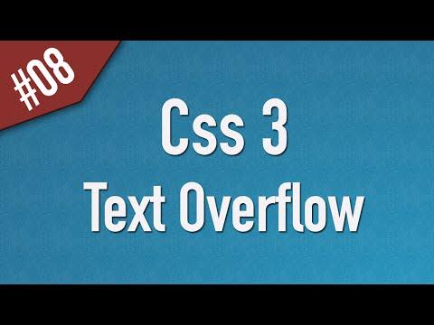 تعلم CSS3 القائمة #1 الفديو #8